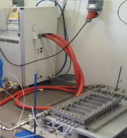 First pilot version of the HANU-reactor installed at Ajinomoto Bio-Pharma Services