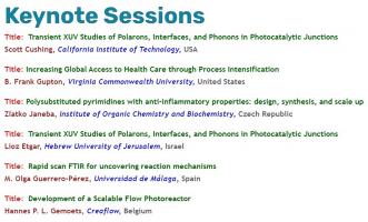 Creaflow is keynote speaker on the International Webinar on Chemistry