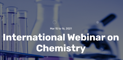 Creaflow is keynote speaker on the International Webinar on Chemistry