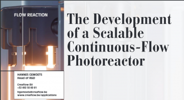 """The Development of a Scalable Continuous-flow Photoreactor"" in PharmaChem"