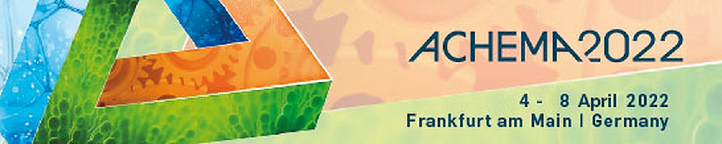 4 - 8 April | ACHEMA 22 | Frankfurt am main, Germany